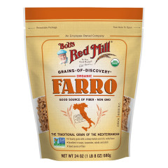 BOB'S RED MILL ORGANIC FARRO GRAIN 24 OZ POUCH