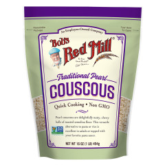 BOB'S RED MILL TRADITIONAL PEARL COUSCOUS 16 OZ POUCH