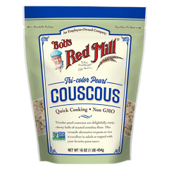 BOB'S RED MILL TRI-COLOR PEARL COUSCOUS 16 OZ POUCH