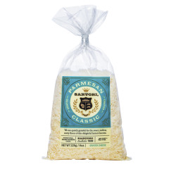 SARTORI GRATED PARMESAN CHEESE 8 OZ BAG