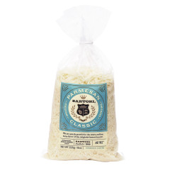 SARTORI SHREDDED PARMESAN CHEESE 8 OZ BAG