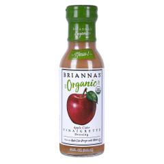 BRIANNA'S ORGANIC APPLE CIDER VINAIGRETTE 10 OZ BOTTLE