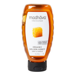 MADHAVA - ORG - GOLDEN HONEY SQUEEZE - 16OZ