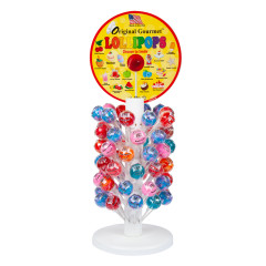 ORIGINAL GOURMET LOLLIPOP COUNTER TREE 1.1OZ 120 PC