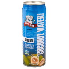 AMY & BRIAN'S ORIGINAL COCONUT WATER 17.5 OZ CAN