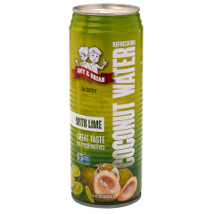 AMY & BRIAN'S COCONUT WATER WITH LIME 17.5 OZ CAN