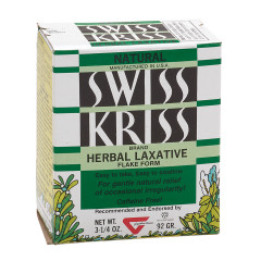 SWISS KRISS FLAKES 3.25 OZ BOX