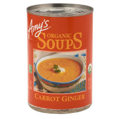 AMY'S CARROT GINGER SOUP 14.2 OZ CAN