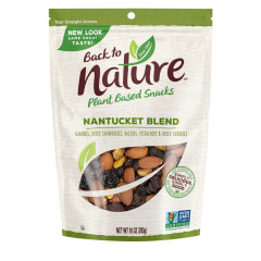 BACK TO NATURE NANTUCKET BLEND TRAIL MIX 10 OZ POUCH