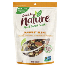 BACK TO NATURE HARVEST BLEND TRAIL MIX 10 OZ POUCH