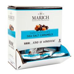 MARICH DARK CHOCOLATE SEA SALT CARAMEL 0.5 OZ GRAVITY BIN