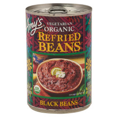 AMY'S REFRIED BLACK BEANS 15.4 OZ CAN