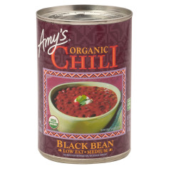 AMY'S BLACK BEAN CHILI 14.7 OZ CAN