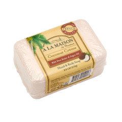 A LA MAISON COCONUT CREAM SOLID BAR 8.8 OZ SOAP