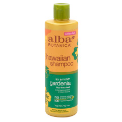 ALBA BOTANICA - GARDENIA SO SMOOTH SHAMPOO - 12OZ - 6/CS