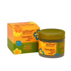 ALBA BOTANICA PAPAYA ENZYME FACIAL MASK 3 OZ JAR