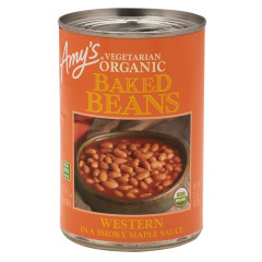 AMY'S-WESTERN BAKED BEANS 15 OZ CAN