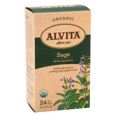 ALVITA TEA ORGANIC SAGE TEA BAGS ORGANIC 24 CT BOX
