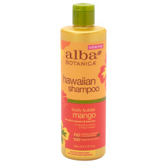 ALBA BOTANICA - MANGO BODY BUILDER SHAMPOO - 12OZ - 6/CS