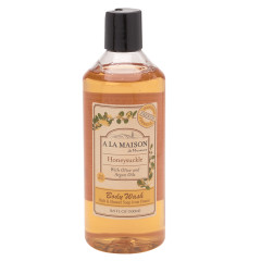 A LA MAISON HONEYSUCKLE BATH & SHOWER GEL 16.9 OZ BOTTLE