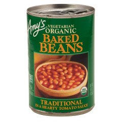 AMY'S VEGETARIAN BAKED BEANS 15 OZ CAN