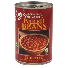 AMY'S CHIPOTLE BAKED BEANS 15 OZ CAN