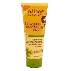 ALBA BOTANICA COCO BUTTER HAND & BODY LOTION 7 OZ TUBE