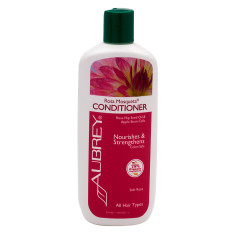 AUBREY ORGANICS ROSA MOSQUETA CONDITIONER 11 OZ BOTTLE