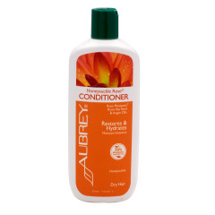 AUBREY ORGANICS HONEYSUCKLE ROSE CONDITIONER 11 OZ BOTTLE