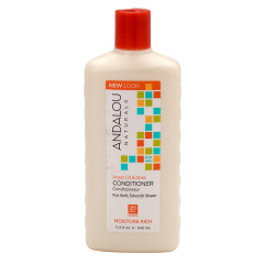 ANDALOU NATURALS ARGAN OIL AND SHEA CONDITIONER 11.5 OZ BOTTLE