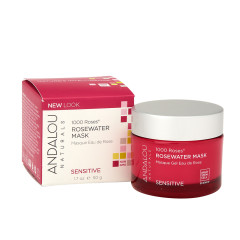 ANDALOU - 1000 ROSES ROSE - WATER MASK - 1.7OZ - 6/CS