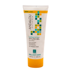 ANDALOU - SUNFLOWER/CITRUS MED HOLD STYL GEL - 6.8OZ - 6