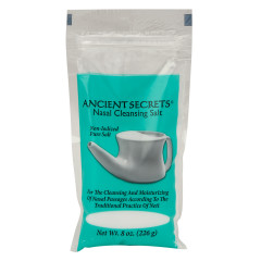 ANCIENT SECRETS NASAL CLEANSING SALT 8 OZ BAG