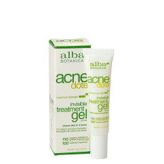 ALBA BOTANICA ACNEDOTE INVISIBLE TREATMENT GEL 0.5 OZ BOX
