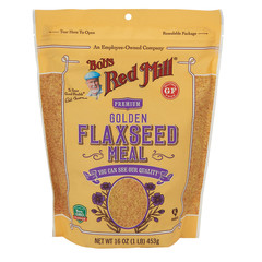 BOB'S RED MILL GOLDEN FLAXSEED MEAL 16 OZ POUCH