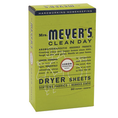 MRS. MEYER'S LEMON VERBENA DRYER SHEETS