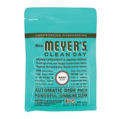 MRS. MEYER'S BASIL AUTOMATIC DISHWASHER PACKS 12.7 OZ POUCH