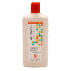 ANDALOU - ARGAN OIL & SHEA MOIST SHAMPOO - 11.5OZ - 6/CS