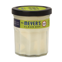 MRS. MEYER'S LEMON VERBENA SOY CANDLE 4.9 OZ JAR
