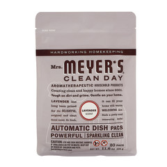 MRS. MEYER'S LAVENDER AUTOMATIC DISHWASHER PACKS 12.7 OZ POUCH