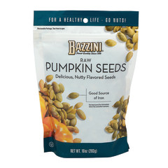 BAZZINI RAW PUMPKIN SEEDS 10 OZ POUCH