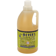 MRS.MEYER'S 2X LEMON VERBENA LAUNDRY DETERGENT  64 OZ JUG