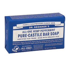 DR. BRONNER'S PEPPERMINT MAGIC BAR 5 OZ SOAP