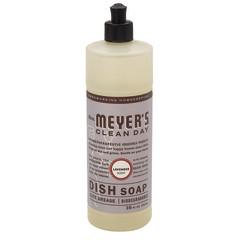 MRS. MEYER'S LAVENDER LIQUID DISH  SOAP 16 OZ BOTTLE