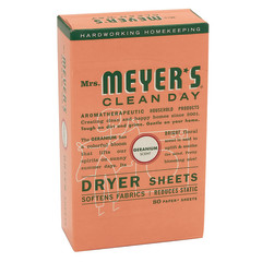 MRS. MEYER'S GERANIUM DRYER SHEETS