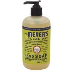 MRS. MEYER'S LEMON VERBENA LIQUID HAND SOAP 12.5 OZ PUMP BOTTLE
