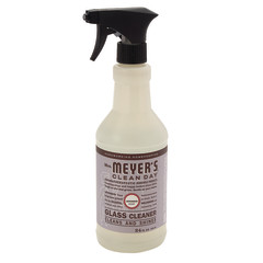 MRS. MEYER'S LAVENDER GLASS CLEANER 24 OZ SPRAY