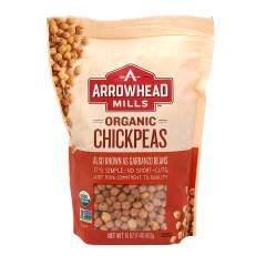 ARROWHEAD MILLS ORGANIC CHICKPEAS 1 LB PK6 POUCH