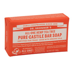 DR. BRONNER'S TEA TREE MAGIC BAR 5 OZ SOAP