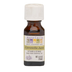 AURA CACIA ESSENTIAL CITRONELLA OIL  0.5 OZ BOTTLE